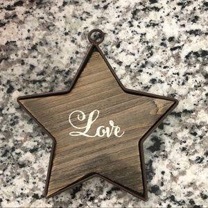"Other - Star decor ""love"""